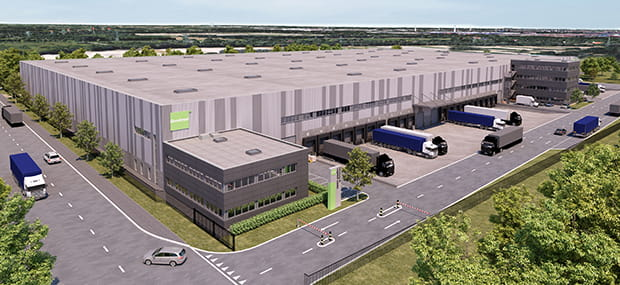 Goodman Hamburg Logistics Centre